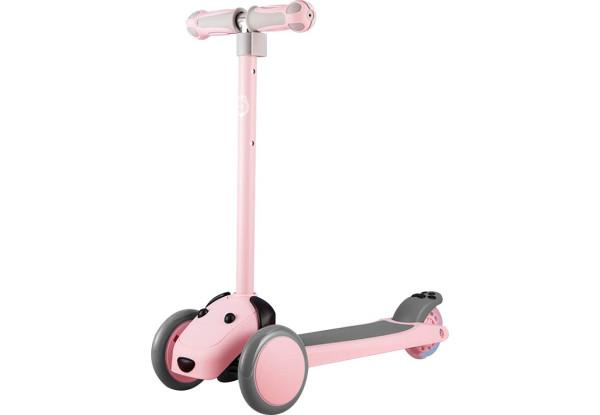 Дитячий самокат-кикборд Xiaomi Xiaoxun Meng Pet Dog Scooter (XPWJC1000) Pink