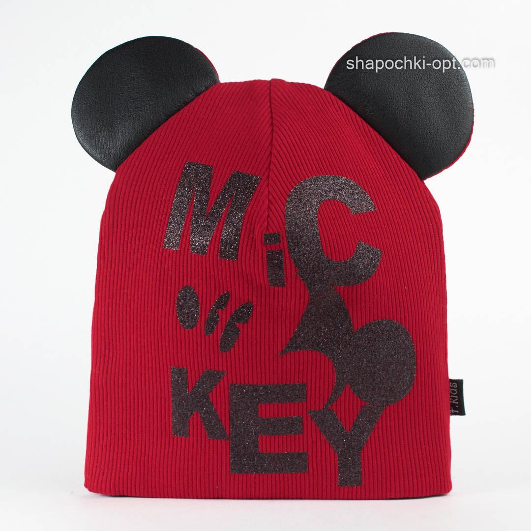Трикотажная красная шапочка Лэсси