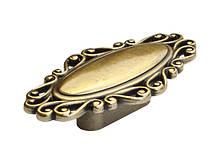 Ручка мебельная скоба Virno Style 280 античная бронза