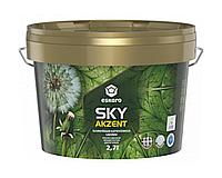 Краска для потолков ESKARO SKY акрилатная белая 2,7л