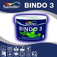 Краска интерьерная SADOLIN BINDO 3 латексная белый,