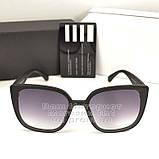 Жіночі сонцезахисні окуляри Fendi Квадратні матові Фенді Модні 2020 Стильні Брендові репліка, фото 5