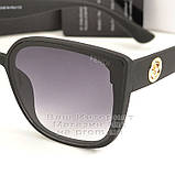 Жіночі сонцезахисні окуляри Fendi Квадратні матові Фенді Модні 2020 Стильні Брендові репліка, фото 2