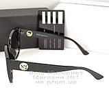Жіночі сонцезахисні окуляри Fendi Квадратні глянцеві Фенді Модні 2020 Стильні Брендові репліка, фото 3