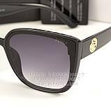 Жіночі сонцезахисні окуляри Fendi Квадратні глянцеві Фенді Модні 2020 Стильні Брендові репліка, фото 2