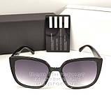Жіночі сонцезахисні окуляри Fendi Квадратні глянцеві Фенді Модні 2020 Стильні Брендові репліка, фото 5