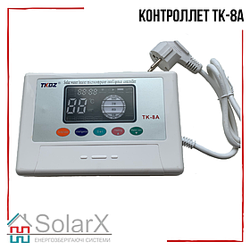 Контроллер ТК-8А для сезонных термосифонных гелиосистем