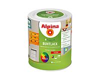 Эмаль акриловая ALPINA AQUA BUNTLACK УКРАИНА универсальная глянцевая транспарентная - база B3 0,75л