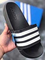 Сланцы/шлепки Adidas /шлепанцы/ адидас/черные