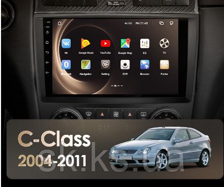 Junsun 4G Android магнітола для Mercedes Benz C-Class C Class W203 W209 C180 C200 CL203 C209 A209 2004 - 2011