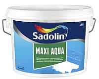 Шпатлевка акриловая SADOLIN MAXI AQUA влагостойкая голубая 10л