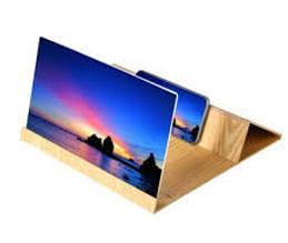 Sale! Увеличитель 3D (х3) экрана мобильного телефона под дерево