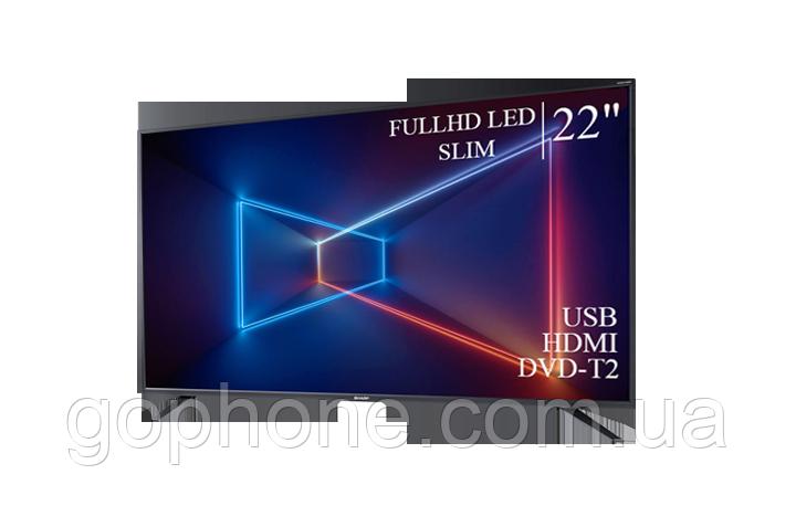 """Телевизор Sharp 22"""" FullHD/DVB-T2/USB (1080р)"""
