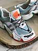 Кросівки жіночі з райдужної підошвою, фото 8