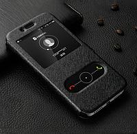 Чехол книжка Momax для Samsung Galaxy A10s A107 черный (самсунг а10с)