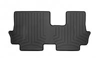 Коврики резиновые с бортиком лайнеры WeatherTech Mitsubishi Outlander 2013 задние 3 ряд черные 441624