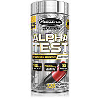 Тестостероновый бустер MuscleTech Pro Series Alpha Test, 120 Caplets