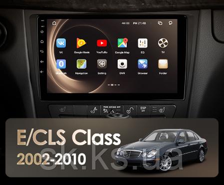 Junsun 4G Android магнитола для Mercedes Benz E Class S211 W211 CLS Class C219 2002 - 2010