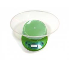 Кухонные электронные весы до 5кг KE-2 Green