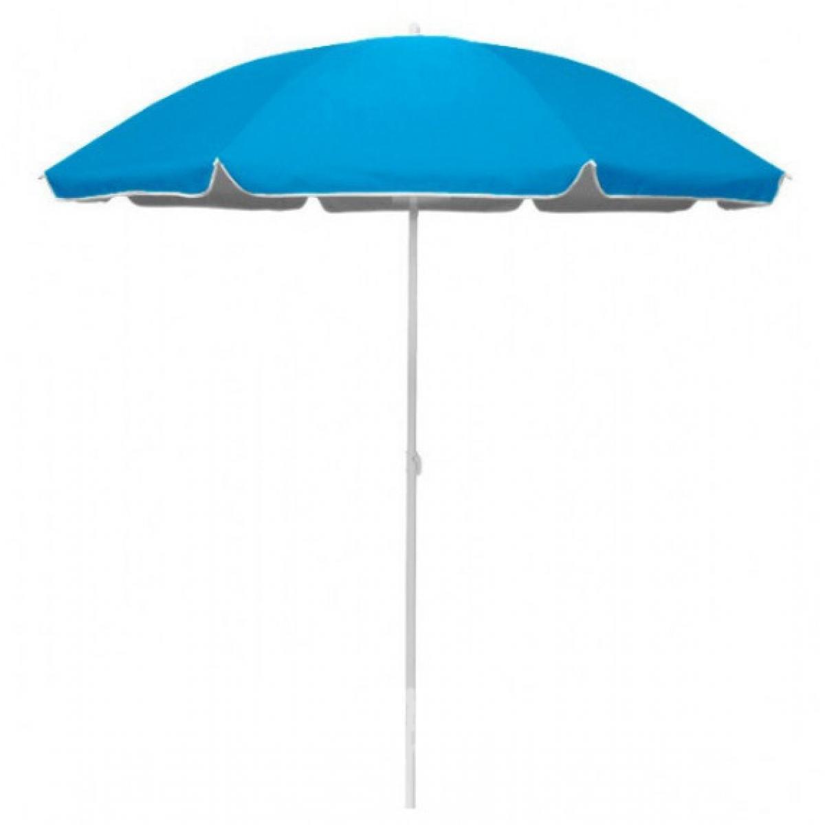 Зонт пляжный d2.0м серебро Stenson MH-2060