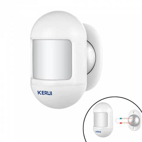 Датчик движения мини ИК PIR 433МГц для GSM сигнализации KERUI P831, фото 2