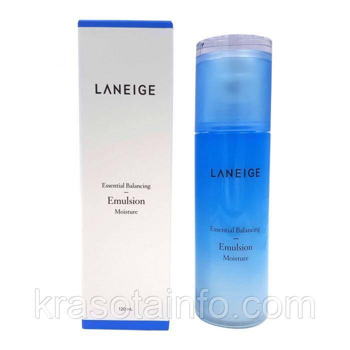 Увлажняющая  балансирующая эмульсия для лица LANEIGE Essential Balancing Emulsion Moisture 120ml