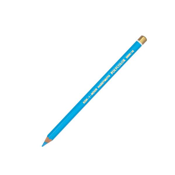 """Олівець кол. """"K-In"""" Polycolor 3800-16 блакитний синій"""