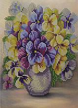 Набор для вышивки бисером Цветы Д 249