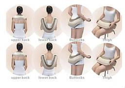 Массажер для плечь, спины и шеи вибрационный Cervical Massage MJY-816, фото 3