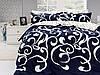 Комплекты постельного белья First Choice. Satin Сиреневый-Евро 7435