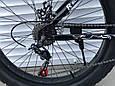 Велосипед ФЕТБАЙК Спорт 26 дюймов Горный спортивный велосипед FatBike 215 ЧЕРНЫЙ Внедорожник Fat Bike, фото 8
