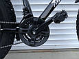 Велосипед ФЕТБАЙК Спорт 26 дюймов Горный спортивный велосипед FatBike 215 ЧЕРНЫЙ Внедорожник Fat Bike, фото 9