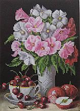 Набор для вышивки бисером Цветы Д 277