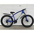 Велосипед ФЕТБАЙК Спорт 26 дюймов Горный спортивный велосипед FatBike 215 ЧЕРНЫЙ Внедорожник Fat Bike, фото 5