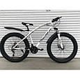 Велосипед ФЕТБАЙК Спорт 26 дюймов Горный спортивный велосипед FatBike 215 ЧЕРНЫЙ Внедорожник Fat Bike, фото 3