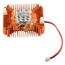 Вентилятор с радиатором 55мм 12В 2пин кулер VGA