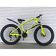 Велосипед ФЕТБАЙК Спорт 26 дюймов Горный спортивный велосипед FatBike 215 ЧЕРНЫЙ Внедорожник Fat Bike, фото 4
