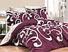 Комплекты постельного белья First Choice. Satin Темно розовый-Евро 7436