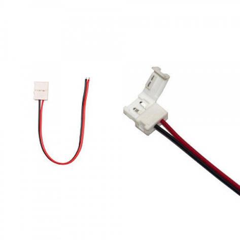 Коннектор выводной для 8 мм LED ленты LikeTronic SMD 3528 Белый, фото 2