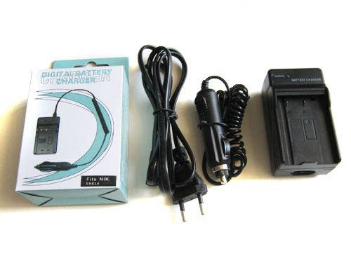 Сетевое + авто зарядное для Nikon EN-EL9 ENEL9, фото 2