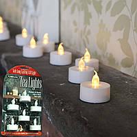"""Светодиодные свечи """"Чайные"""" LedGo LED Torch Tea Light (6 шт. в наборе)"""