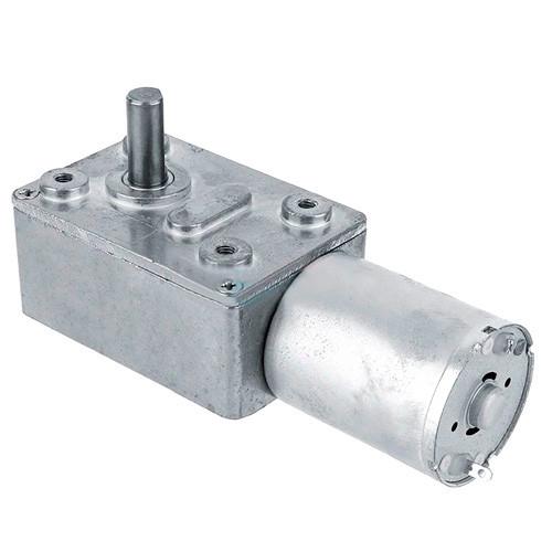 Мотор редуктор червячный JGY-370 6В 2об/мин