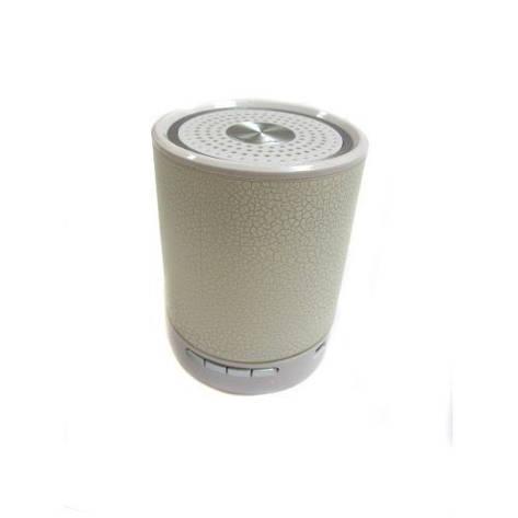 Портативная колонка плеер MP3 FM AUX T2020 White, фото 2