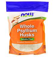 Now Foods, Псиллиум, цельная оболочка семян подорожника, 16 унций (454 г)