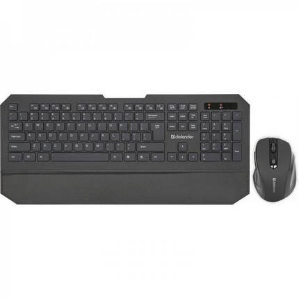 Клавиатура + мышь Defender Berkeley C-925 Black (45925) USB, фото 2