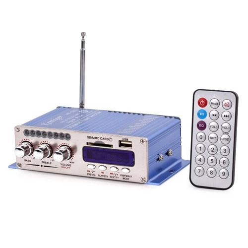 Hi-Fi усилитель в авто HY-502, USB SD DVD CD FM MP3 плеер