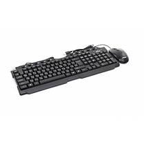 Комплект (клавиатура, мышь) Frime FKBM-310KIT; RUS/UKR Black USB, фото 2