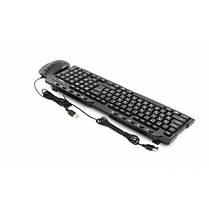 Комплект (клавиатура, мышь) Frime FKBM-310KIT; RUS/UKR Black USB, фото 3