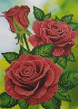Набор для вышивки бисером Красные розы Д 235