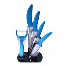 Набор керамических ножей Royalty Line RL-C4ST Blue